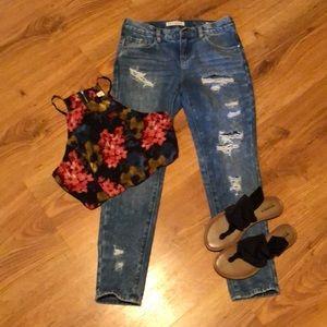 Bullhead skinny boyfriend jeans